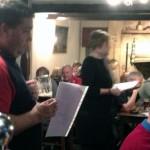 Quiz Master at pub quiz