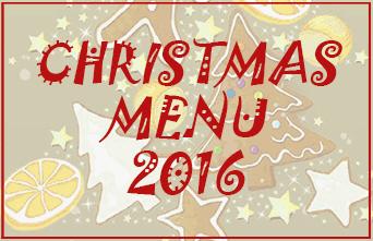 Christmas Menu 2016